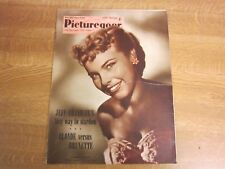 January 1954, PICTUREGOER, Terry Moore, Jeff Chandler, Marilyn Monroe, Ann Blyth