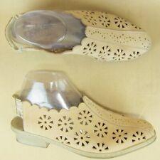 Rieker Antistress Slingback Cut Out Shoe Floral US 9 9.5 EU 40 Women Nubuck