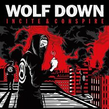WOLF DOWN - INCITE AND CONSPIRE  VINYL LP + MP3 NEW+