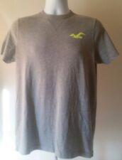 Hollister  Men's T-Shirt  Size M  Short Sleeve  Gray   Graphic Tee  Hco.
