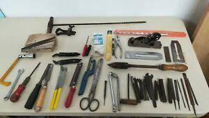 Job Lot Of Mixed Tools, Stanley Plane, Britool, Drill Bits