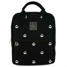 Loungefly Disney Nightmare Before Christmas Jack Skellington Heads Backpack Bag