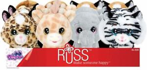 "RUSS Plush PEEPERS Jungle Animals Series 8"" (20cm) Assortment to Choose NEW"