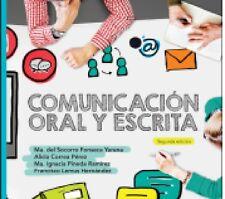 COMUNICACION ORAL Y ESCRITA, POR: MARIA DEL SOCORRO FONSECA YERENA