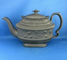 ANTIQUE 18THC HARTLEY GREEN & CO LEEDS LARGE TEAPOT C1800 WEDGWOOD STYLE