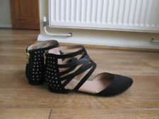 River Island Girls' Faux Suede Zip Shoes