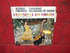 Antonio escobero - pépé Martinez - alegrias - granadinas -  hispa vox 27505