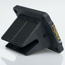 1987-2000, 2002 Honda CR 125 V-Force 3 Reed Cage/Block With Carbon Fiber Petals