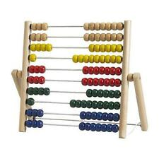 Ikea Mula Abacus Wooden Beads Blue Red Yellow Green New
