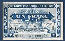 ALGERIE - 1 FRANC Pick n° 101. de 1944. en SUP  2T H 990.454