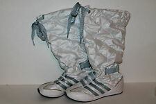 Adidas Sneaker Boots, SAMPLE, #G17612, White/Met Blue, Youth Size 3.5 Y