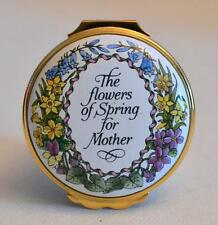 Halcyon Days Enamels Mother's Day 1992 The Flowers of Spring for Mother Box