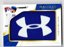 2018 IMMACULATE ALEX VERDUGO RC JUMBO UNDER ARMOUR PATCH RELIC # 1/1 DODGERS