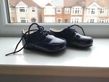 BNIB boys patent navy shoes. 6