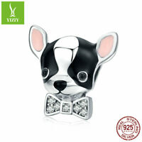925 Sterling Silver Charms beads Animal Pendant Fit Women Bracelet Jewelry NEW
