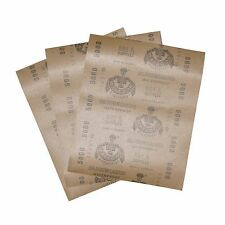3 pc.Matador Sandpaper Wet or Dry 5000 Grit  9 inch X 11 inch sheets Germany