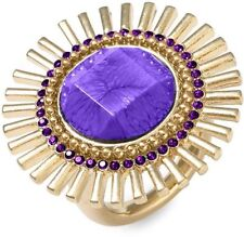 Kate Spade Sardinian Sun Ring NWT Simply Stunning Amazing Gold Detail