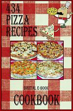 434 Delicious Pizza Recipes E-Book Cookbook CD-ROM
