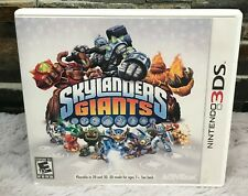 Skylanders Giants Game Nintendo 3DS with Case Used Tested Works