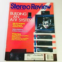 Stereo Review Magazine January 1993 - Hi-Fi VCR & Sony Digital Preamplifier Test