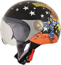 AFX FX33Y Kids Open-Face Scooter/Motorcycle Helmet (ROCKET BOY) Youth Small