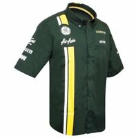 Ladies Caterham F1 Replica Race Shirt Formula One Womens Size S