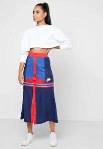 NWT $80 NIKE NSW Colour Block Skirt BV2995 492 SMALL S LARGE L MEDIUM M