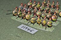 25mm classical / greek - ancient hoplites 28 figs - inf (11946)