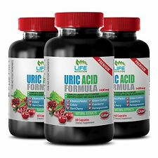 Advanced Antioxidant Capsules - Uric Acid Formula 1430mg - Gout - Medicine 3B