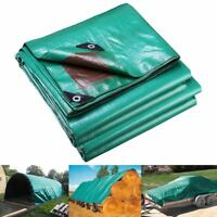 12x20' Reinforced Poly Tarp All Purpose 7mil Canopy Tent Cover Shelter Tarpaulin
