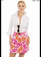 S- NWT- Gretchen Scott Jersey Skippy Skort  Monsieur Henri Skirt Shorts Pink Ora