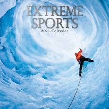 2021 Calendar Extreme Sports Square Wall By The Gifted Stationery GSC20051