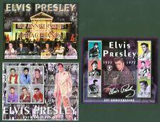 Guinea 2002 - Elvis Presley - 25. Todestag - 20 J. Graceland - 3764-81 komplett
