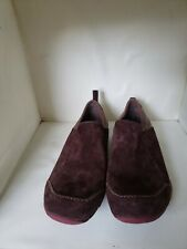 """Merrell Womens Sz 5.5 M """"Bisect"""" Coffee Bean Brown Suede Slip-On Comfort Shoes"""