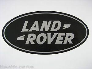 2 Land Rover Insignia Número De Matrícula Pegatina De Vinilo pegar en defender Discovery N019