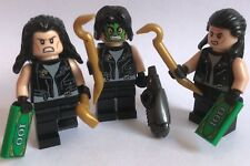 genuine LEGO parts only - 3 mini figures - GOTHAM CITY BANK ROBBERS - BAD GUYS