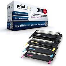 4x ECOLINE Pro Cartuchos de tinta para Samsung clp-315 tóner print Eco