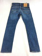 Levi's Premium 519 Big E Slim Fit Straight Leg Denim Blue Jeans - Men's 30 x 30