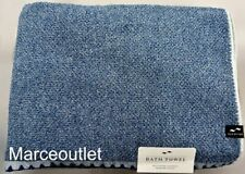 "Slowtide Luxe Bath Towel Set 30"" x 60"" Navy Blue"