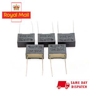 5 x 0.15uF 275VAC 150nF R.46 MKP X2 SH Safety Capacitors 40/110/56 - PACK OF 5