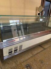Vetrina refrigerata frigorifero banco frigor cm 250x104x125