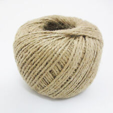 350' Feet Natural 2 Ply Twisted Jute Twine Rope Bird Parrot Toy Craft Parts Long