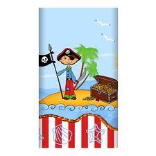 15 Tischdecken Papier 120 cm x 180 cm Piraten Insel lackiert Papstar