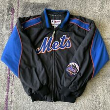 Majestic MLB New York Mets Baseball Windbreaker Jacket Mens Medium