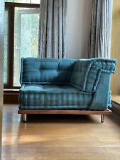 Customized Teak Wood Base for Roche Bobois inspired Sectional Daybed Living Sofa
