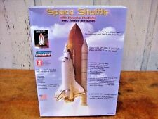 LINDBERG SPACE SHUTTLE WITH BOOSTER ROCKETS MODEL KIT 91002