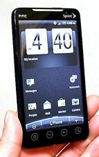 HTC EVO 4G Sprint PCS WHITE Google Android Smart Cell Phone Bluetooth PC36100 -A
