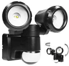 Twin Light Adjustable Outdoor Security Energy Saving LED SMD Flood SpotLight