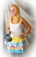 """Bubble Dot"" Apron Does Spring - Featuring Fabrics from Michael Miller"