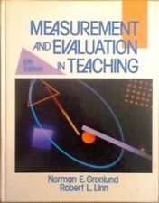 Measurement and Evaluation In Teaching (Gronlund & Linn) - GOOD !!